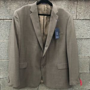 NWT Stafford Tailored CreaseResistant Blazer 52L